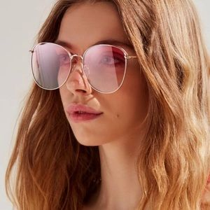 Urban Outfitters Large Pink Sunglasses